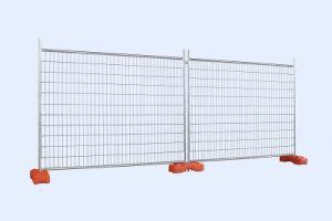 Sitio de construcción utilizados Australia Standard vallas temporales