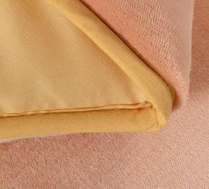 ビロードの代わりとなるパッチワークのSherpaの慰める人のキルトの羽毛布団