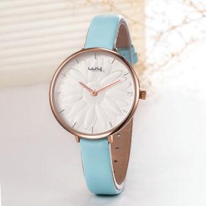 OEM van Japan Movemnent ODM het Horloge van de Manier van de Vrouw van de Gift (wy-110A)