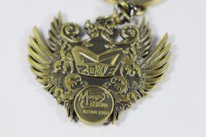 Классическая сувенирный меди и бронзы металлического покрытия цинком сплава цепочки ключей