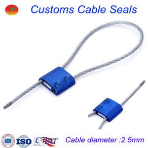 Abitudini in lega di zinco del filo di acciaio che fondono sotto pressione la guarnizione del cavo del contenitore di alluminio