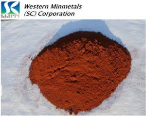 Nano IjzerOxyde bij Westelijk MINMETALS Fe2o3 99.9%