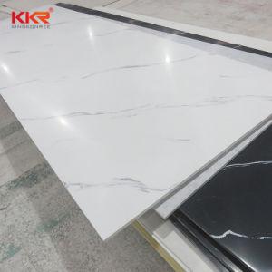 De kunstmatige Marmeren Albasten Stevige Oppervlakte van het Blad