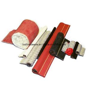 Band op hoge temperatuur van het Kikkervisje van de Glasvezel van het Silicone van de Pakking de Rode