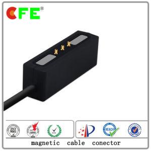 3pin黒い磁気ケーブルコネクタ