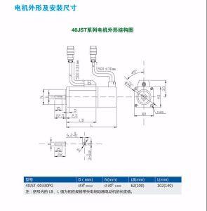 Los servomotores de imán permanente eléctrico síncrono de refrigeración por líquido