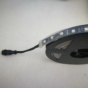 Fita LED flexível DMX 48 LEDs de luz 16 pixels