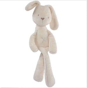 Giocattoli su ordinazione di Plushed del coniglio di coniglietto dell'animale farcito per i bambini dei capretti