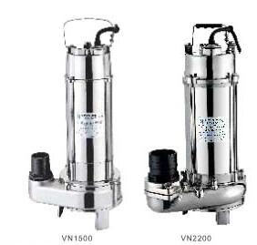 Bomba sumergible de Aguas Residuales (VN1500) con CE