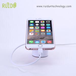 Expositor soporte para teléfono móvil con función de alarma