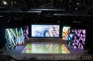 LED couleur de la location d'affichage vidéo P3.91, P4.81, P6.25 avec 500*500 mm/500*1000 mm de bord