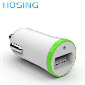 Верхнюю часть продаж мини-очаровательный 1A 2.1A автомобильное зарядное устройство для телефона