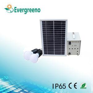 La energía solar en el exterior de la luz de LED del panel cargador USB Sistema de inicio
