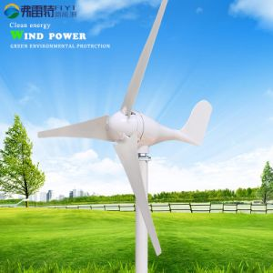 100W 12V gerador da turbina eólica horizontal para o Vento Solar postes de híbridos
