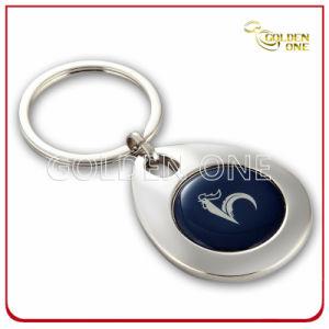 Custom Printed & Laser Metal Trolley Coin Key Ring