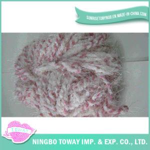 Alta resistência a tecelagem de fios de fantasia de algodão de lã de poliéster - 5
