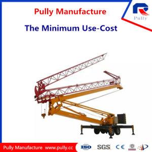 Caricamento di sollevamento massimo di fabbricazione della puleggia gru a torre mobile pieghevole da 6 tonnellate (MTC2030)
