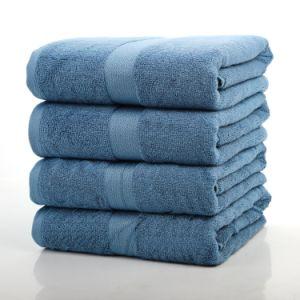 Bon marché de gros de fibre de bambou 100 coton Serviettes de bain pour bébé