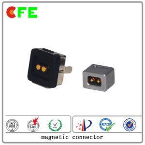Encargo de 4 pines magnética conector del cable de alimentación
