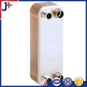 蒸化器およびコンデンサーのためのろう付けされた版の熱交換器