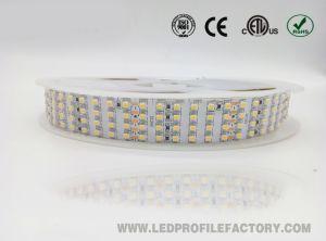 3528 Cinta de LED de alto brillo tira flexible de 12/24V RGB IP67.