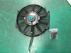ventilateur de refroidissement de radiateur de voiture lectrique universel rond de 10 pouces. Black Bedroom Furniture Sets. Home Design Ideas