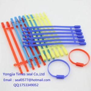Guarnizioni di plastica del fornitore di lunghezza di Gyh-07fixed in tester elettrico Plasticne Plombe della Malesia
