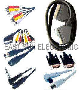 Kabel des Scart Kabel-/RCA