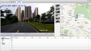 パトカー300mの夜間視界レーザーHD CCTVのカメラ