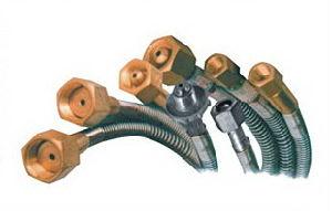 高圧金属の適用範囲が広い管(SFG-1)