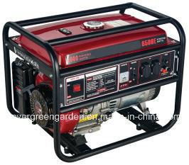 Venda a quente 8000W Portable Baixo ruído de geradores de gasolina utilizada em casa