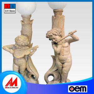 Fabricado en China personalizable tallados en piedra de granito Farola