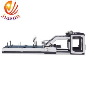 Automatische Flöte-Hochgeschwindigkeitslaminiermaschine Qtm 1450