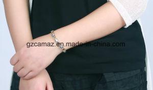Silber B08 mit Goldliebes-magnetischem Titanbioarmband mit gutem Preis