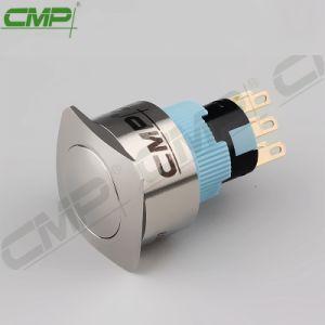 CMP 2no 2nc Dpdtの金属の正方形の瞬時の押しボタンスイッチ