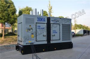 generatore diesel ultra silenzioso autoalimentato Cummis 350kVA con l'iso del Ce