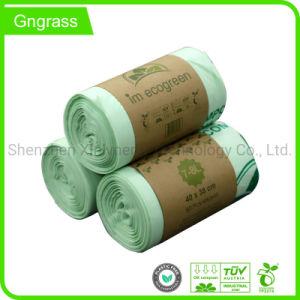 Ecológica impermeable bolsa de basura de plástico biodegradable/hogar bolsas de basura