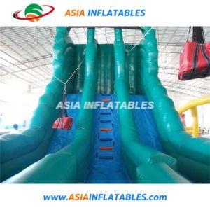 Exterior de lona de PVC de 0,55 mm OEM grandes obstáculos inflables