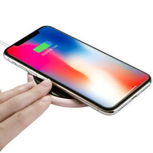 Carga rápida de Qi de mejor venta 5W 7.5W 10W Cargadores de teléfono inalámbrico portátil para tu iPhone o Android