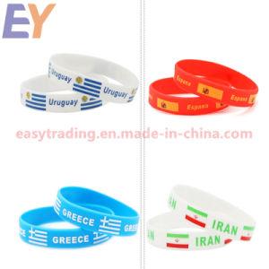8515ae13b790 Imprimir el logotipo de baratos personalizados pulsera de silicona ...