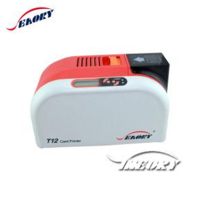 T12 utilizado la impresora de tarjetas de ID de plástico de la máquina de impresión térmica