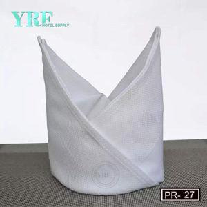 Tovagliolo bianco del tovagliolo del cotone all'ingrosso poco costoso