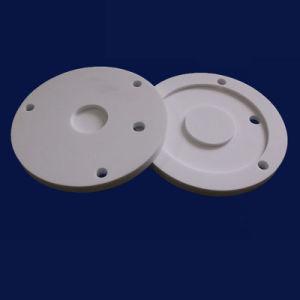 Parti di recambio di ceramica di ceramica industriali della valvola di acquazzone dell'allumina anticorrosiva Al2O3