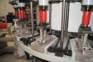 Macchina automatica dell'iniezione diretta per la fabbricazione dei pattini di sicurezza dei pattini di tela di canapa del pattino di sport e dei pattini del banco in materiale del PVC TPR TR