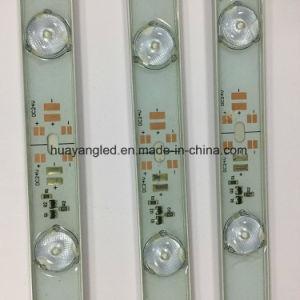 LEIDENE van het Aluminium van het stadslicht SMD3030 12V 24V IP65 Waterdichte Openlucht Lichte Dubbele Zij LEIDENE van de Strook Stijve Staaf