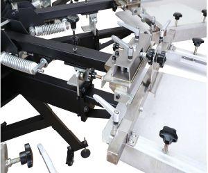 Stampatrice rotativa manuale dello schermo del morsetto del doppio della tessile di 8 colori