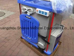 Kar/het Karretje van de Neerstorting van de Noodsituatie van /ABS van het roestvrij staal de Plastic Medische