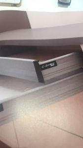 Angestrichene festes Holz-Tür Blum lagert moderne Spiegel-Qualitäts-Eitelkeit schwenkbar (ACS1-W143)
