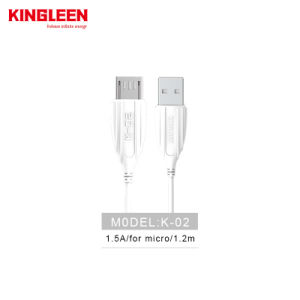 Teléfono Android a micro USB Cable USB 2.0 Sync y carga rápida para Samsung, Kindle, LG Huawei