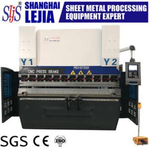 máquina de dobragem dobradeira CNC económica Pbz-100T/3200mm